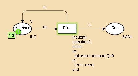 Example code segment