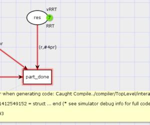 InternalError: Compile error when generating code