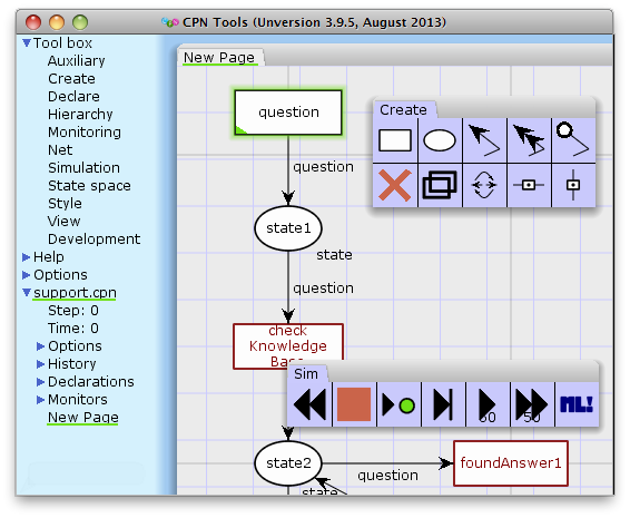 CPN Tools – A tool for editing, simulating, and analyzing