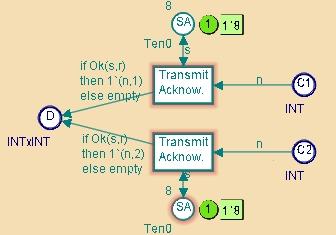 Elements with non-unique ML names