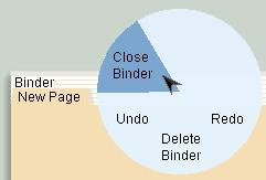 Close binder