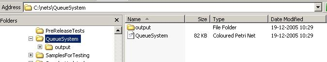 Top output directory